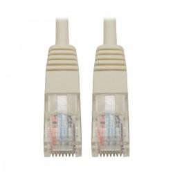 Tripp Lite 6ft Cat5e / Cat5 350MHz Molded Patch Cable RJ45 M/M White 6' - Cordon de raccordement - RJ-45 (M) pour RJ-45 (M) -