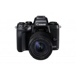 Canon EOS M5 - Appareil photo numérique - sans miroir - 24.2 MP - APS-C - 1080p / 60 pi/s - 8.3x zoom optique objectif EF-S 18