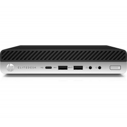 HP EliteDesk 800 G3 - Mini bureau - 1 x Core i7 7700T / 2.9 GHz - RAM 8 Go - SSD 256 Go - NVMe, TLC - HD Graphics 630 - GigE -