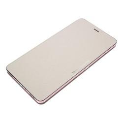ASUS Folio Cover - Protection à rabat pour téléphone portable - polyuréthane, polycarbonate - beige - pour ASUS ZenFone 3 Ultra