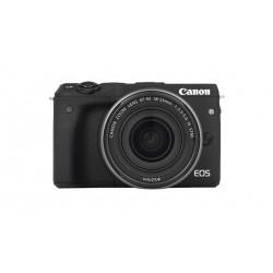 Canon EOS M3 - Appareil photo numérique - sans miroir - 24.2 MP - APS-C - 1080p / 30 pi/s - corps uniquement - Wi-Fi, NFC - noi