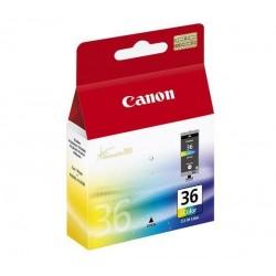 Canon CLI-36 Color - Couleur (cyan, magenta, jaune, noir) - originale - cartouche d'encre - pour PIXMA iP100, iP100 Bundle, iP