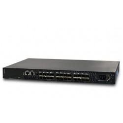 Lenovo B300 FC SAN - Commutateur - Géré - 8 x Fibre Channel SFP+ 8 Go - Ordinateur de bureau, Montable sur rack