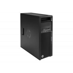 HP Workstation Z440 - MT - 4U - 1 x Xeon E5-1650V4 / 3.6 GHz - RAM 16 Go - SSD 256 Go - HP Z Turbo Drive, HDD 1 To - graveur de