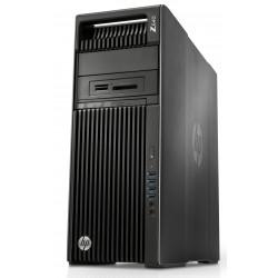 HP Workstation Z640 - MT - 4U - 1 x Xeon E5-2630V4 / 2.2 GHz - RAM 16 Go - SSD 256 Go - HP Z Turbo Drive, (MLC) - graveur de DV