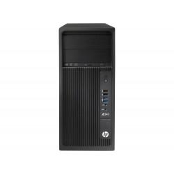 HP Workstation Z240 - MT - 1 x Xeon E3-1245V6 / 3.7 GHz - RAM 8 Go - SSD 256 Go - graveur de DVD - HD Graphics P630 - GigE - Wi