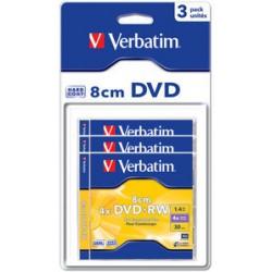 Verbatim DVD+RW (8cm) x 3 - 1.4 Go - support de stockage