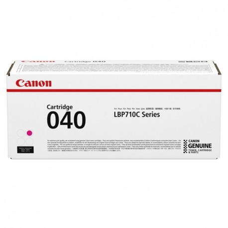 Canon 040 - Magenta - originale - cartouche de toner - pour imageCLASS LBP712Cdn