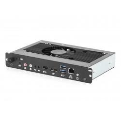 NEC Slot-In PC - Lecteur de signalisation numérique - Intel Celeron - RAM 4 Go - HDD 32 Go - Windows 7 Embedded