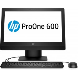 HP ProOne 600 G3 - Tout-en-un - 1 x Core i3 6100 / 3.7 GHz - RAM 4 Go - HDD 1 To - graveur de DVD - HD Graphics 530 - GigE - Wi