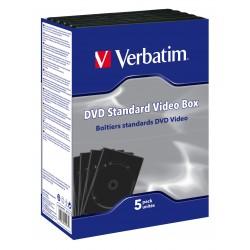 DVD STANDARD VIDEO BOX pack de 5 (boitiers vides)