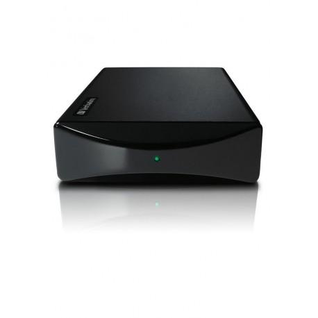 """Verbatim SmartDisk - Disque dur - 500 Go - externe (de bureau) - 3.5"""" - USB 2.0 - 7200 tours/min - Noir acier"""