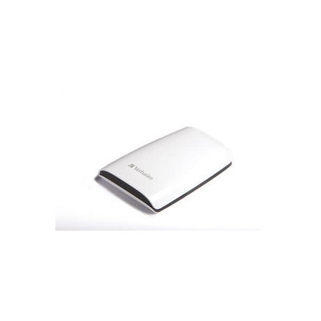 "Verbatim Executive Portable Hard Drive - Disque dur - 500 Go - externe (portable) - 2.5"" - USB 2.0 - 5400 tours/min - blanc"