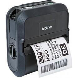 Brother RuggedJet RJ-4030 - Imprimante d'étiquettes - papier thermique - Rouleau (11,8 cm) - 203 dpi - jusqu'à 127 mm/sec - USB