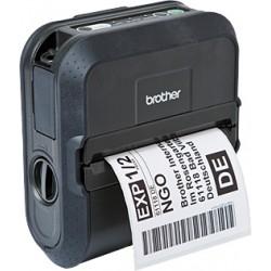 Brother RuggedJet RJ-4040 - Imprimante d'étiquettes - papier thermique - Rouleau (11,8 cm) - 203 x 200 dpi - jusqu'à 127 mm/sec