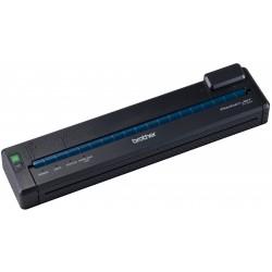 Brother PocketJet 6 PJ-673 - Imprimante - monochrome - papier thermique - A4/Legal - 300 x 300 ppp - jusqu'à 6 ppm - USB 2.0, W