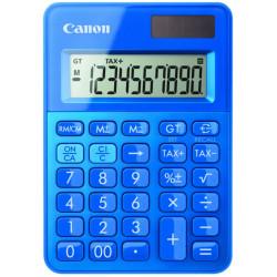 Canon LS-100K - Calculatrice de bureau - 10 chiffres - panneau solaire, pile - bleu métallique