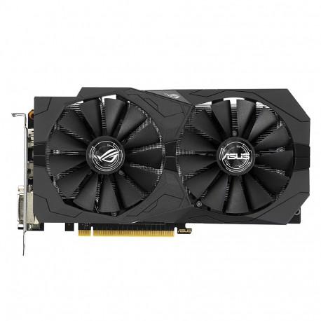 ASUS ROG STRIX-GTX1050-2G-GAMING - Carte graphique - NVIDIA GeForce GTX 1050 - 2 Go GDDR5 - PCIe 3.0 x16 - 2 x DVI, HDMI, Displ