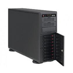 Supermicro SC743 TQ-1200B-SQ - Tour - 4U - ATX étendu - SATA/SAS 1200 Watt - noir - USB