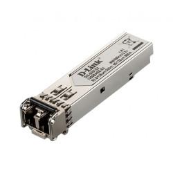 D-Link DIS S301SX - Module transmetteur SFP (mini-GBIC) - GigE - 1000Base-SX - LC multi-mode - jusqu'à 550 m