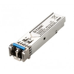 D-Link DIS S302SX - Module transmetteur SFP (mini-GBIC) - GigE - 1000Base-SX - jusqu'à 2 km