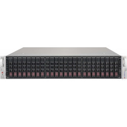 Supermicro SC216 BE2C-R741JBOD - Rack-montable - 2U - SATA/SAS - hot-swap 740 Watt - noir