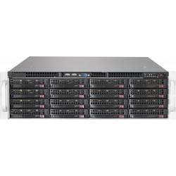 Supermicro SC836 BE2C-R1K03JBOD - Montable sur rack - 3U - SATA/SAS - hot-swap 1000 Watt - noir