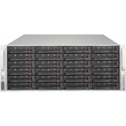 Supermicro SC846 BE2C-R1K03JBOD - Rack-montable - 4U - SATA/SAS - hot-swap 1000 Watt - noir