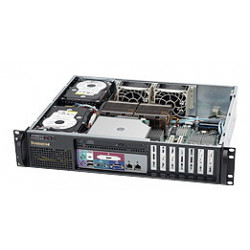 Supermicro SC523 L-410B - Rack-montable - 2U - ATX 410 Watt - noir