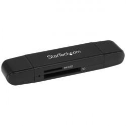 StarTech.com USB Memory Card Reader - USB 3.0 SD Card Reader - Compact - 5Gbps - USB Card Reader - MicroSD USB Adapter - Lecteu