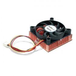 StarTech.com Ventilateur CPU pour serveur 1U Socket 7/370 de 60 x 10 mm avec dissipateur thermique en cuivre et connecteur TX3