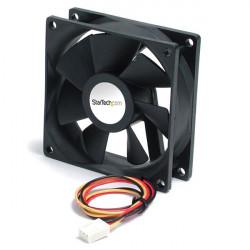 Startech.com Ventilateur PC haute performance à double billes avec alimentation TX3 - 90 x 25 mm - Kit de ventilation pour ordi