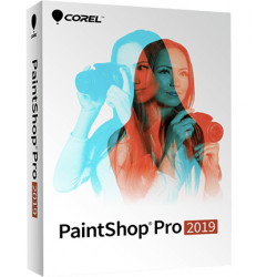 Corel PaintShop Pro 2019 - Licence - 1 utilisateur - academic, volume - 1 à 4 licences - Win - Multi-Lingual