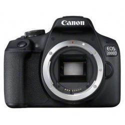 Canon EOS 2000D - Appareil photo numérique - Reflex - 24.1 MP - APS-C - 1080p / 30 pi/s - corps uniquement - Wi-Fi, NFC