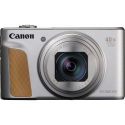 Canon PowerShot SX740 HS - Appareil photo numérique - compact - 20.3 MP - 4K / 30 pi/s - 40x zoom optique - Wi-Fi, Bluetooth -