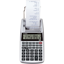 Canon P1-DTSC II - Calculatrice avec imprimante - LCD - 12 chiffres - pile - argent