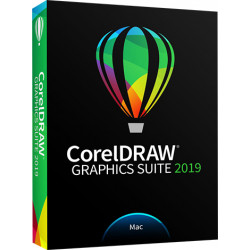 CorelDRAW Graphics Suite 2019 for Mac - Version boîte - 1 utilisateur - Mac - Multi-Lingual - Europe