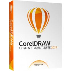 CorelDRAW Home & Student Suite 2019 - Version boîte - non commercial (mini-boîtier) - Win - tchèque, polonais