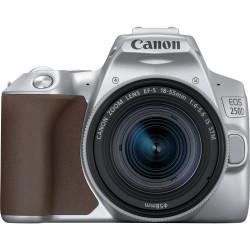 Canon EOS 250D - Appareil photo numérique - Reflex - 24.1 MP - APS-C - 4K / 25 pi/s - 3x zoom optique objectif EF-S 18-55 mm IS