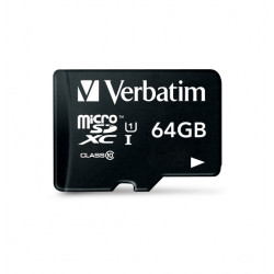 Verbatim Tablet - Carte mémoire flash - 64 Go - Class 10 - microSDXC UHS-I