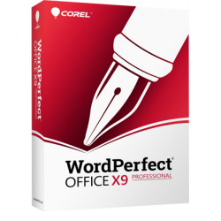 WordPerfect Office X9 Professional Edition - Licence de mise à niveau - 1 utilisateur - volume - niveau 5 (250+) - Win - Multi-