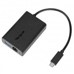 Targus USB-C Multiplexer Adapter - Adaptateur USB - USB-C (M) pour USB type A (F) - USB 3.0 - noir