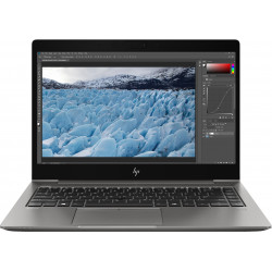 "HP ZBook 14u G6 Mobile Workstation - Core i7 8565U / 1.8 GHz - Win 10 Pro 64 bits - 16 Go RAM - 512 Go SSD NVMe, TLC - 14"" IPS"