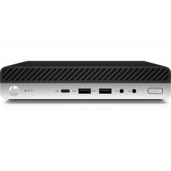 HP Retail System MP9 G4 - Mini bureau - 1 x Pentium Gold G5400T / 3.1 GHz - RAM 4 Go - SSD 128 Go - 3D V-NAND technology - UHD