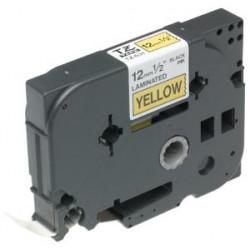 Brother TX631 - Noir sur jaune - Rouleau (1,2 cm x 15 m) 1 rouleau(x) ruban laminé - pour P-Touch PT-30, PT-7000, PT-8000, PT-P