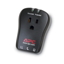 APC SurgeArrest Essential - Protection contre les surtensions - CA 120 V - connecteurs de sortie : 1 - Charbon