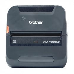 Brother RuggedJet RJ-4230B - Imprimante d'étiquettes - papier thermique - Rouleau (11,4 cm) - 203 x 203 ppp - jusqu'à 127 mm/