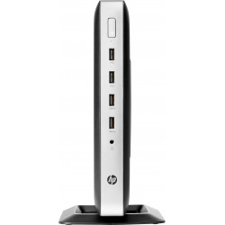 HP t630 - Client léger - tour - 1 x GX-420GI 2 GHz - RAM 8 Go - flash 32 Go - Radeon R6E - GigE - Windows 10 IoT Enterprise pou