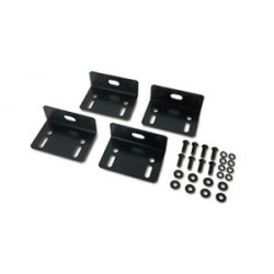 APC - Kit de boulons pour rack - noir - pour NetShelter EP, NetShelter ES, NetShelter SX, Netshelter VX, NetShelter WX