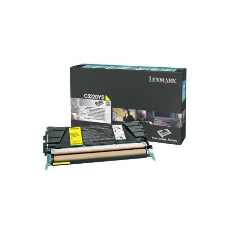 Lexmark - cartouche de toner - 1 x jaune - 3000 pages - lrp